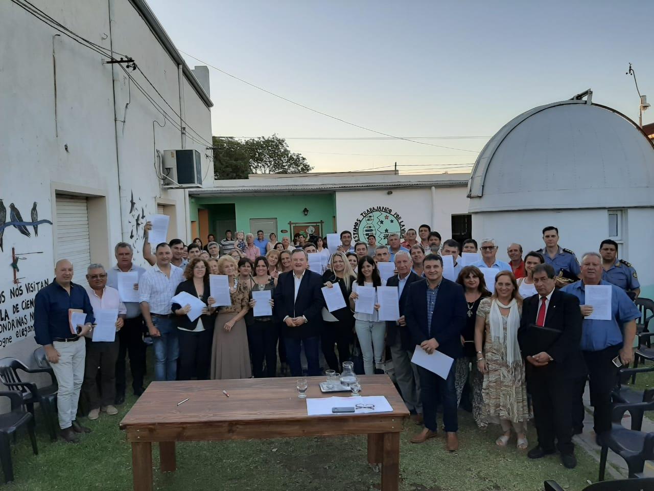 La Red Firmó 30 Convenios En El Departamento San Cristóbal (Santa Fe)
